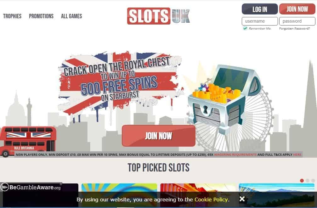 slots uk Homepage