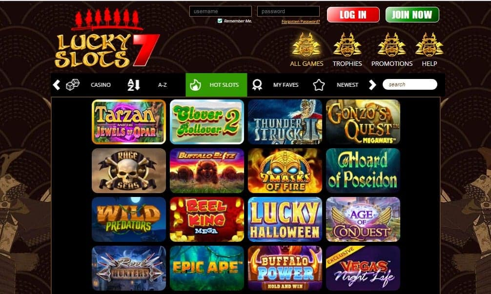 Lucky Slots 7 games