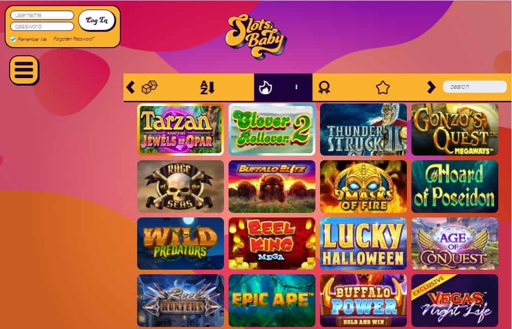 Slots Baby games