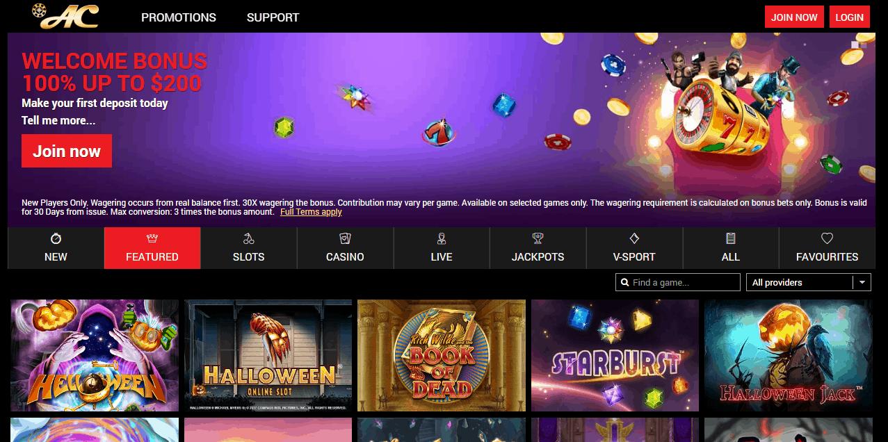 Azimut Casino Promotion Page