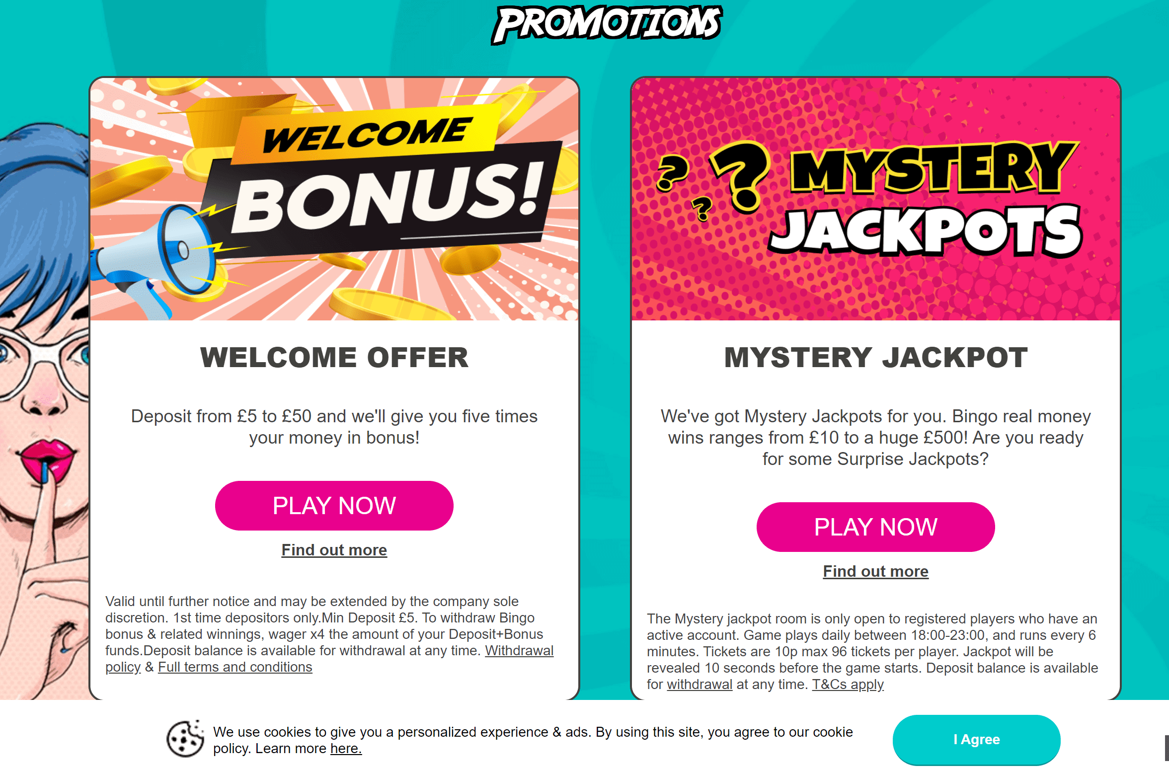 big tease bingo promo