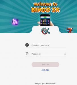 bingo 3x login