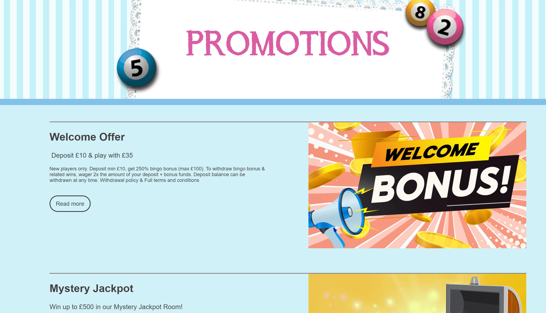 bingo fabulous promo