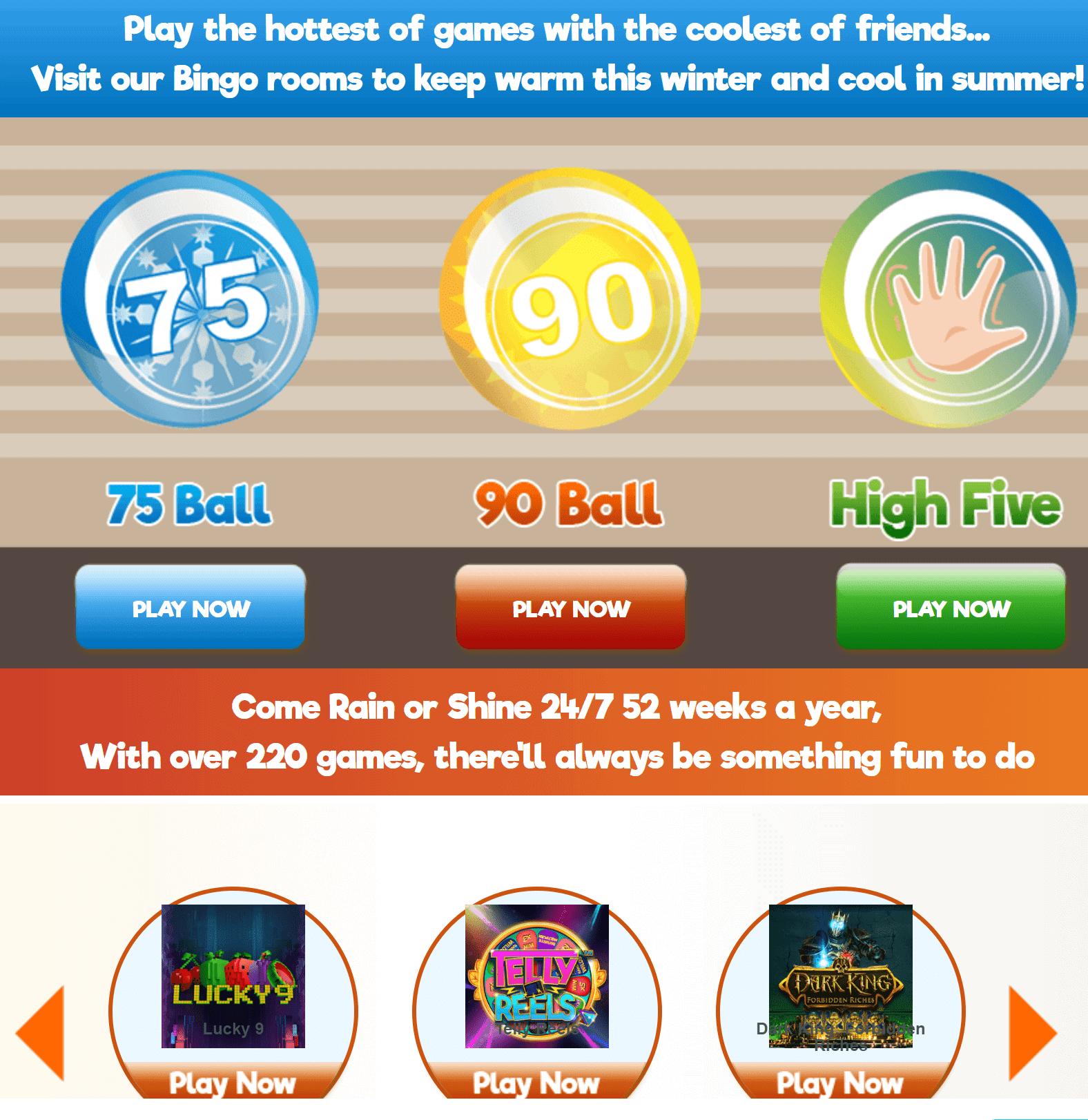 bingo52 games