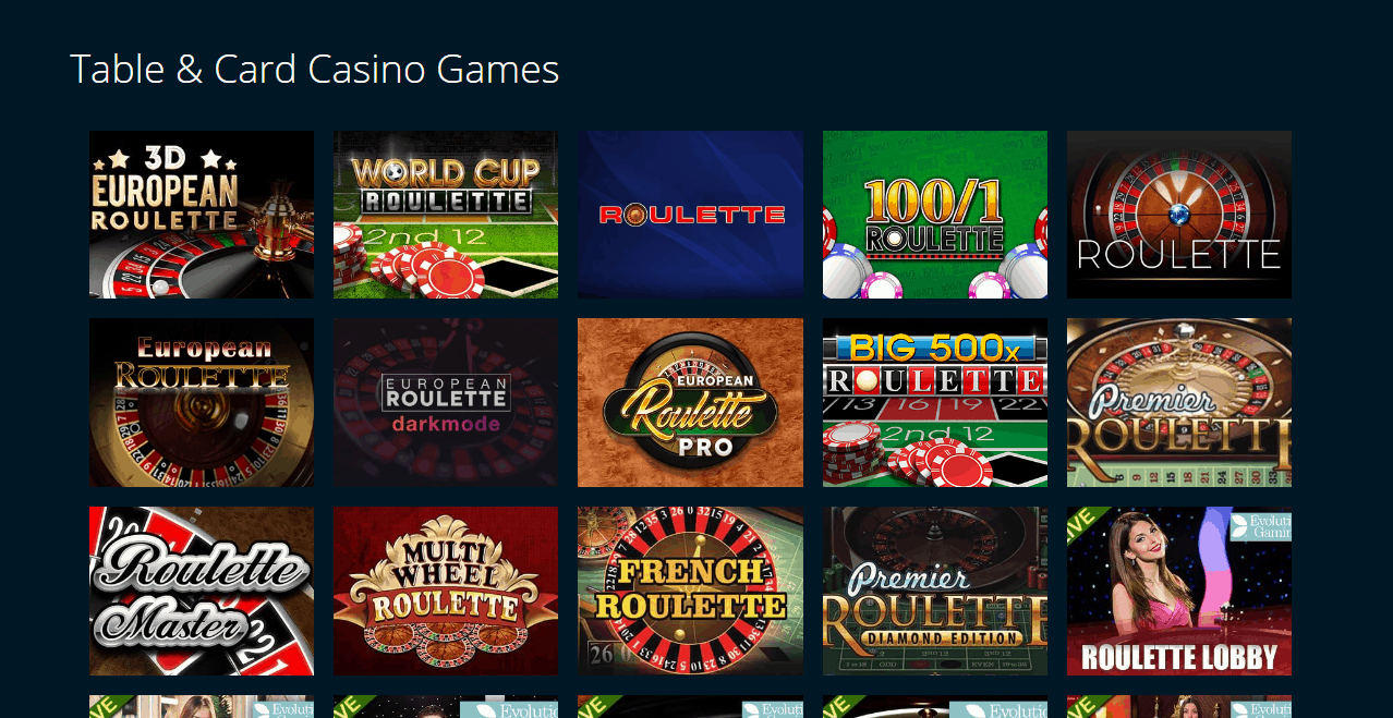 casino british game page