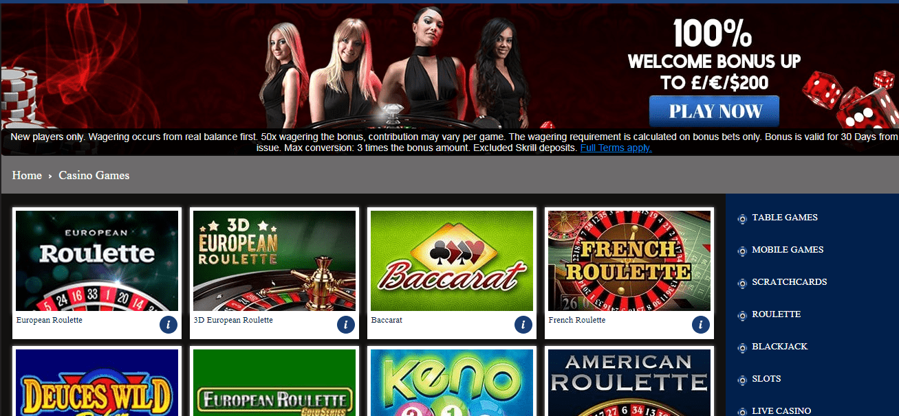 Express Casino game