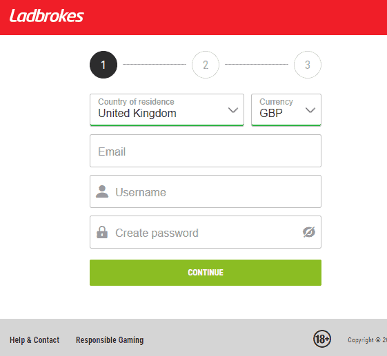 Ladbrokes Bingo sign up