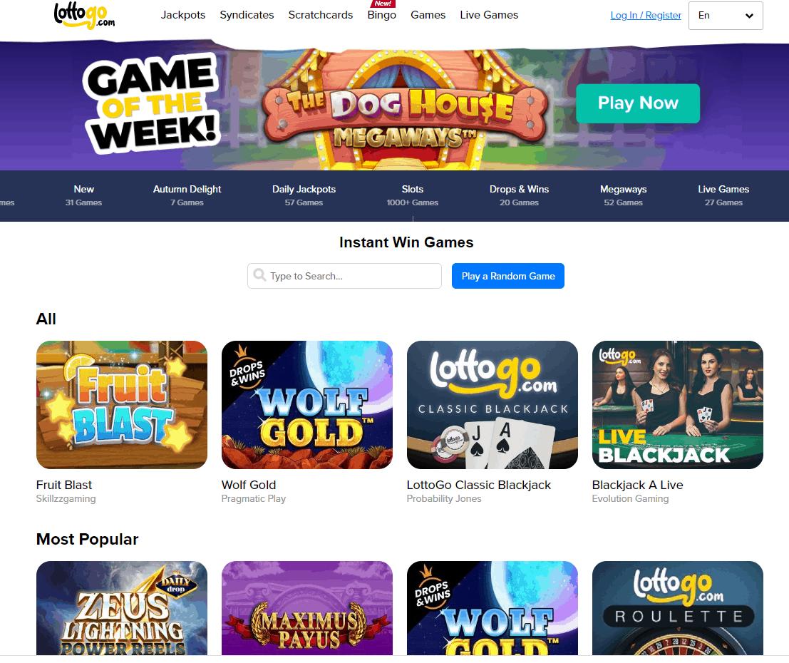 lottogo games