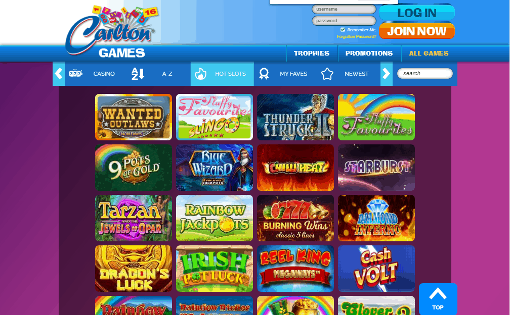 Carlton Games games