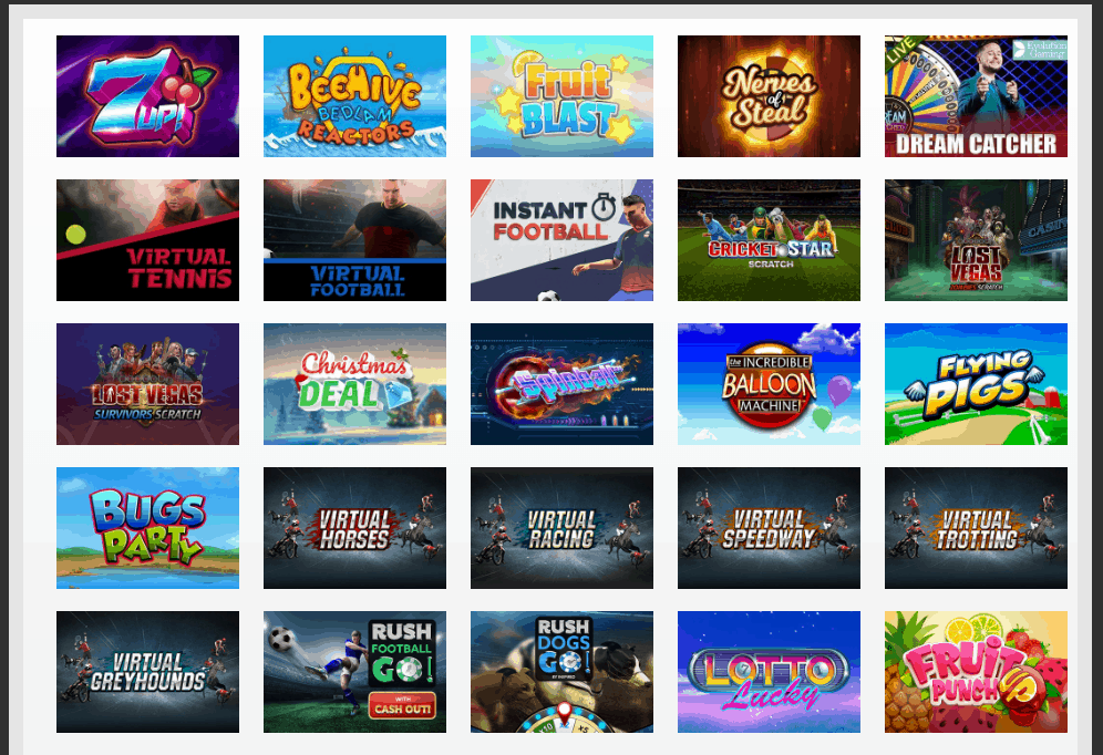 Charming Slots Game Page