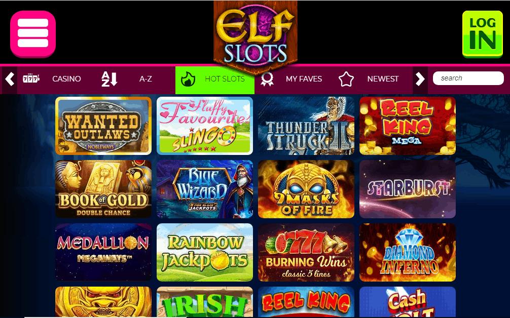 Elf Slots games
