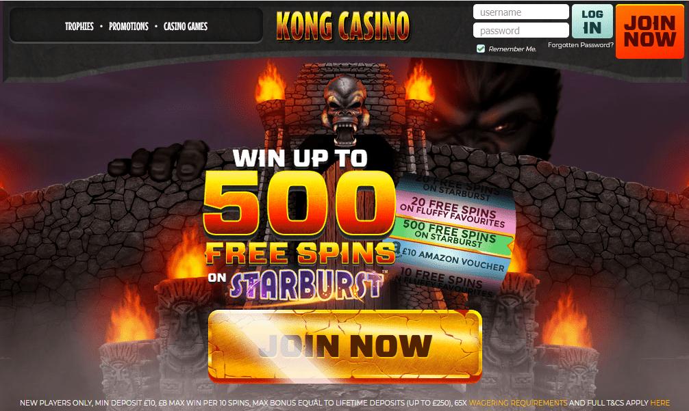 Kong Casino home