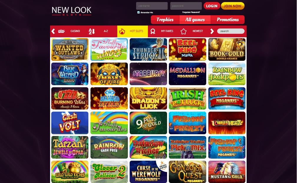 New Look Slots games