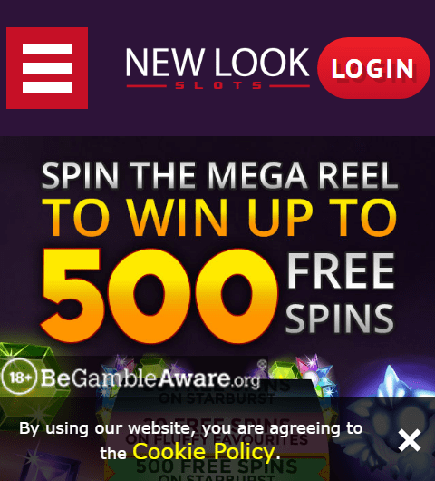 New Look Slots mobile