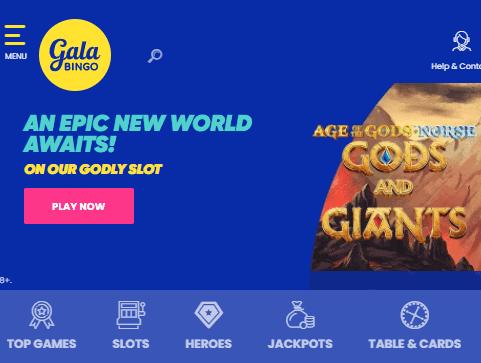 gala bingo front image